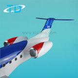 Aviones regionales del modelo del gran escala de la resina de BMI Erj-145
