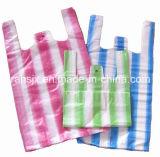 Doubles lignes complètement automatiques machine de sac de T-shirt de découpage de la chaleur
