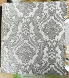 2017 nuevo papel pintado casero al por mayor Guangzhou del precio 1.06m con damasco/diseños modernos