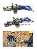 Das exklusive Produkt-Licht, das hydraulisch ist, sondern gebetriebenen den Rebar-Bieger und Strecker aus, die im Gleis, Brücken, Stahlverstärkung, niedriges Ment verwendet wird und bauen Schutzkappen auf