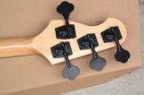 Нот Hanhai/4 шнура чернит электрическую басовую гитару