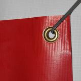 Impression perforée imperméable à l'eau de drapeau de vinyle pour la publicité