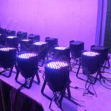 DMX intérieur LED 54X3w PAR Lumière