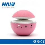 スピーカーのためのかわいいピンクのきのこデザインの小型ウォークマン
