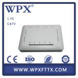 경쟁가격 Gpon Ont FTTH 트리플 플레이 Ont 1fe+WiFi+CATV ONU
