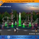 Fuente al aire libre de la piscina de la música con la escultura decorativa