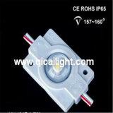 Injeção 2835 com o módulo impermeável do diodo emissor de luz da lente