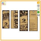 Tarjeta de cabecera de papel dura impresa aduana del bolso polivinílico a todo color de OPP