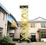 500kg el 16m hidráulico Scissor el equipo de elevación (SJY0.5-16)