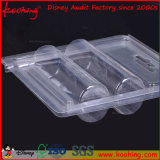 Transparent Thermoformed PVC Blister Packaging Clamshell / Plastic Tray