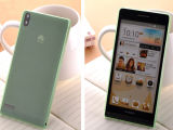 аргументы за Huawei P6 0.3mm ультра тонкое штейновое мягкое