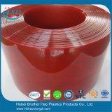 De goedkope Vlotte Donkerrode Broodjes van de Deur van het Gordijn van het Lassen van de Strook van pvc van de Dikte van 2mm