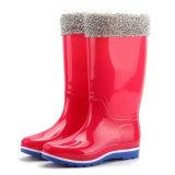 Tres Colores de botas de lluvia máquina de inyección