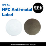 Tag impermeável do metal NFC da microplaqueta F08 anti