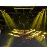 Lumière laser principale mobile polychrome de l'animation 4W RVB de disco du DJ
