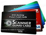 13.56MHz Hf RFID преграждая карточку для экрана кредитной карточки обеспеченностью
