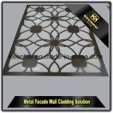 Revêtement extérieur de mur d'utilisation de modèle de laser de panneaux composés en aluminium neufs de coupure