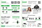 Seguridad 4MP / 3MP / 1080P cámara impermeable de la bóveda del IP de la red (KIP-RF20)