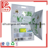 O saco de plástico da folha de alumínio do malote para o alimento cozido leva embora