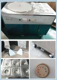 Machine frite de glace de crême glacée de roulis d'acier inoxydable