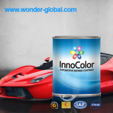 1k Basecoat e vernice superiore di colore solido 2k per Refinishing dell'automobile