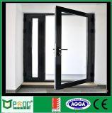 Puerta francesa de la aleación de aluminio con Flycreen