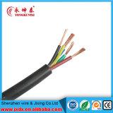 Fio elétrico/elétrico de tampa de PVC/condutor de cobre da bainha/revestimento