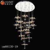 De Lichten Om66003 van de Tegenhanger van de Kristallen van de Kroonluchter van de Parel van de Fabriek van Zhongshan