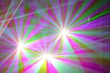 lumière laser polychrome &#160 d'animation de 5W RVB ;