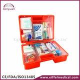 Rectángulo médico de los primeros auxilios de la emergencia DIN13169 de la fábrica del lugar de trabajo