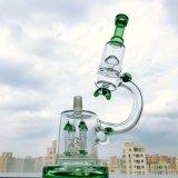 Gldg 14 pollici - tubo di acqua di fumo di vetro di Perc del microscopio alto