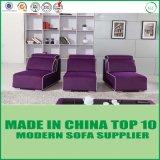 Sofá secional da tela da mobília de madeira chinesa