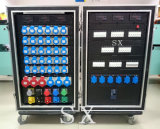 Schrank der Nockensperre-400A mit 32A 3 Phasen-Ausgabe