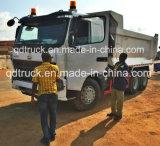 HOWO 팁 주는 사람 트럭의 사용된 375HP HOWO 덤프 트럭