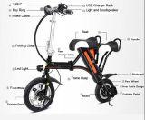 Vente chaude pliant le vélo d'E avec la batterie au lithium