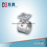 Fabricación profesional de China para la vávula de bola del bastidor de inversión