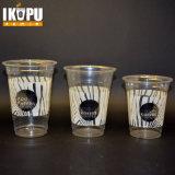 Чашки устранимого кристально чистый пластичные для экспорта