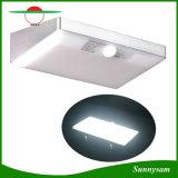 2017新しいバージョン6W太陽ライト760lm 48 LED太陽壁はPIRの動きセンサーの常夜燈の庭の機密保護の防水ランプをつける