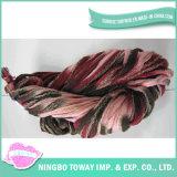 Chapéu de Inverno de tricô tecelagem poliéster de algodão fios de fantasia