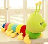 最も新しく多彩なワームの赤ん坊のプラシ天のおもちゃ