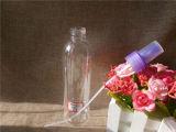 frasco 250ml plástico redondo com bomba azul (PETB-06)