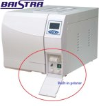 Máquina desktop da autoclave do Sterilizer com impressora interna