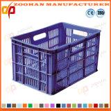 Cesta plástica forte da modificação da logística da fruta do recipiente de armazenamento vegetal (Zhtb14)