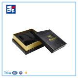Caixa de cartão rígida de papel extravagante das vendas quentes para o empacotamento do presente