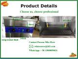 Электрическая сковорода Steeel популярной поставкы коммерчески нержавеющая стоящая
