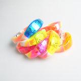 Bracelet en silicone à double couleur pour cadeau promotionnel