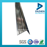 Profil 6063 T5 en aluminium pour le coin de garniture de tuile