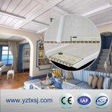 Panneau de plafond de PVC avec une cannelure