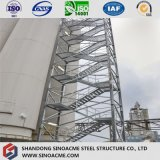 Edifício estrutural de aço pesado Certificated Prefab com Steelstair