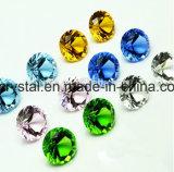 diamante falsificado barato pequeno do cristal do tamanho de 20mm